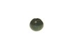 bead; bloodstone - Spherical bloodstone bead
