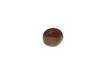 bead; garnet - Spherical garnet bead
