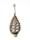 pendant - Pearl and wirework pendant