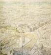 drawing; watercolour - The Rhinebeck Panorama